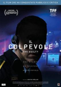 Il colpevole - The Guilty poster ita