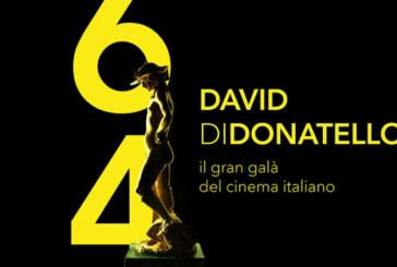 David di Donatello: Tutti i vincitori della 64° edizione