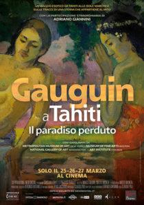 Gauguin A Tahiti - Il Paradiso Perduto poster