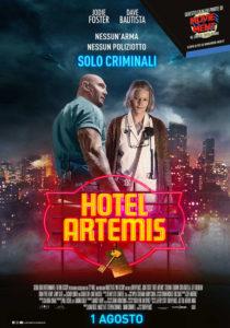 Hotel Artemis locandina italiana