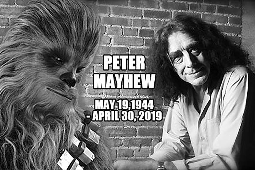 Peter Mayhew News