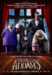 La Famiglia Addams poster