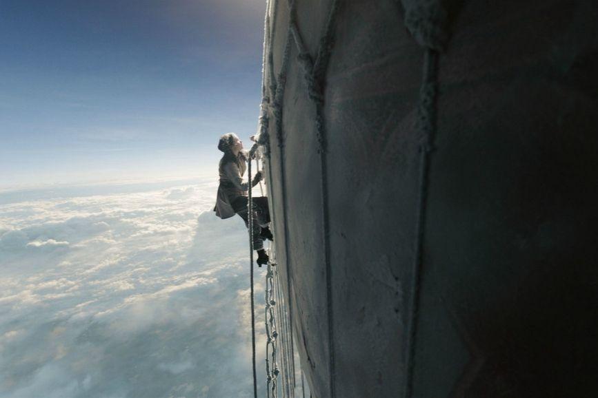 The Aeronauts inquadratura