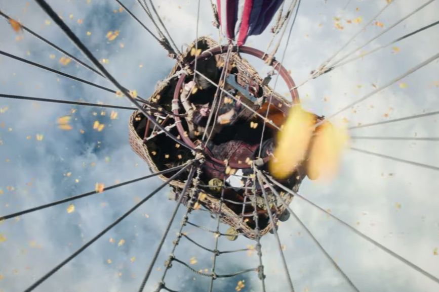 The Aeronauts film