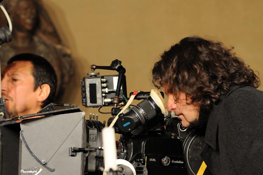 Raffaello: Lorenzo Raveggi al lavoro per un film sull'artista