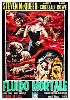 Blob - fluido mortale poster