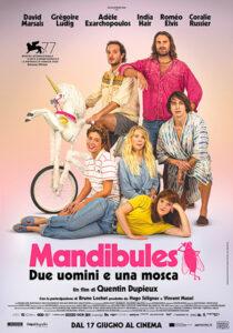 Mandibules - Due uomini e una mosca poster