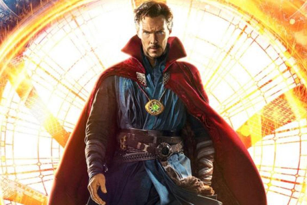 Benedict Cumberbatch nel ruolo di Doctor Strange in Spider-Man 3