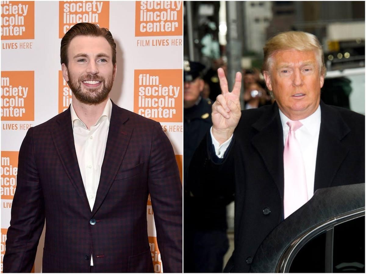 """Chris Evans rivela: """"Donald Trump ha rifiutato due volte un'intervista per il mio sito"""""""
