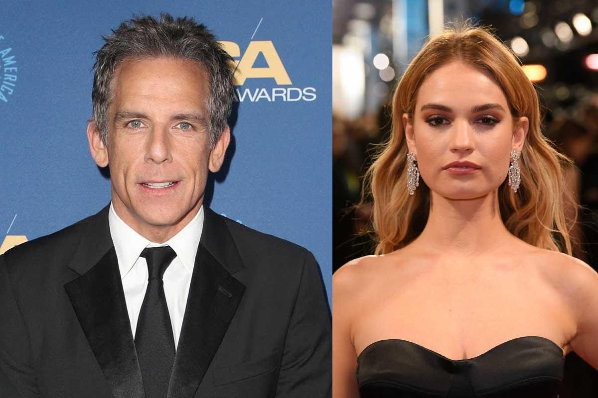 Ben Stiller e Lily James tra i nomi della nuova commedia