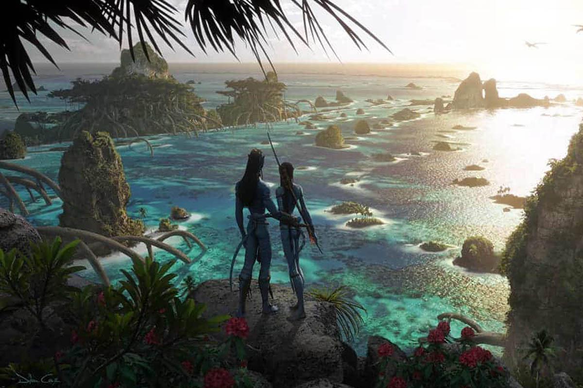 Avatar 2: una foto di Kate Winslet sul set nel ruolo di Ronal