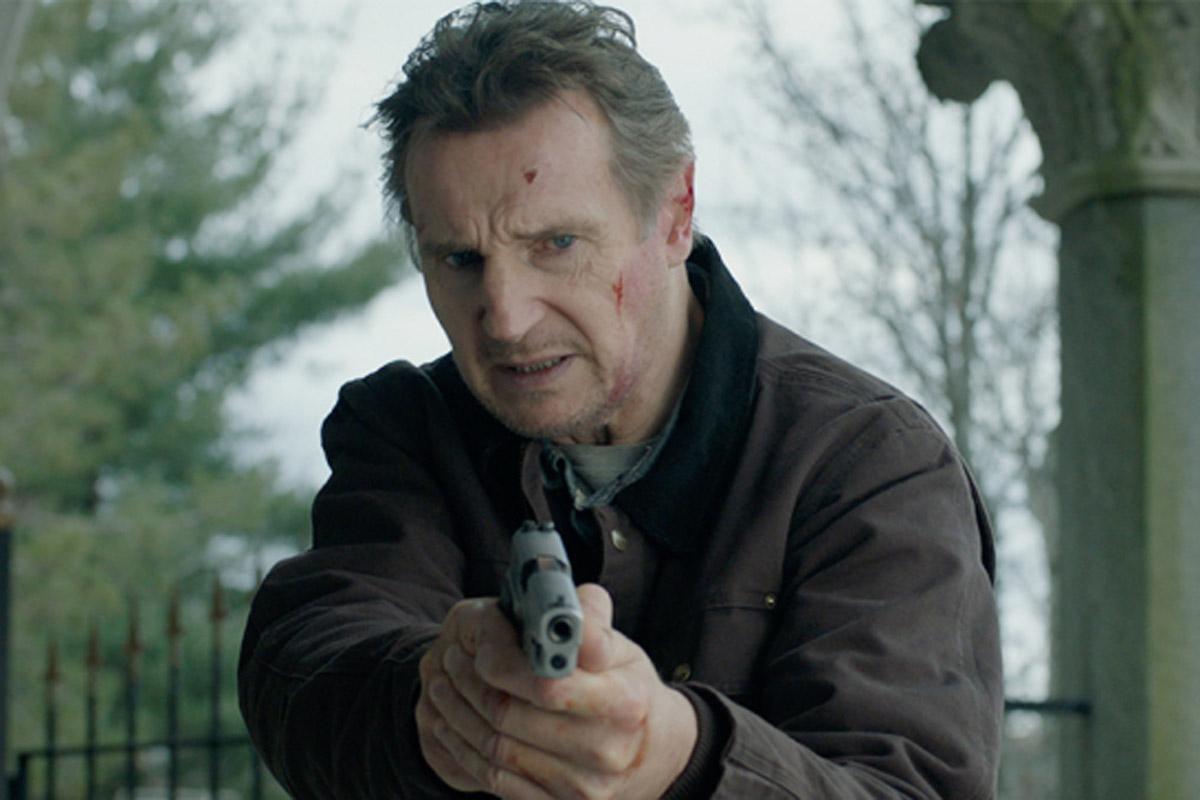 Liam Neeson e Laurence Fishburne nel Thriller