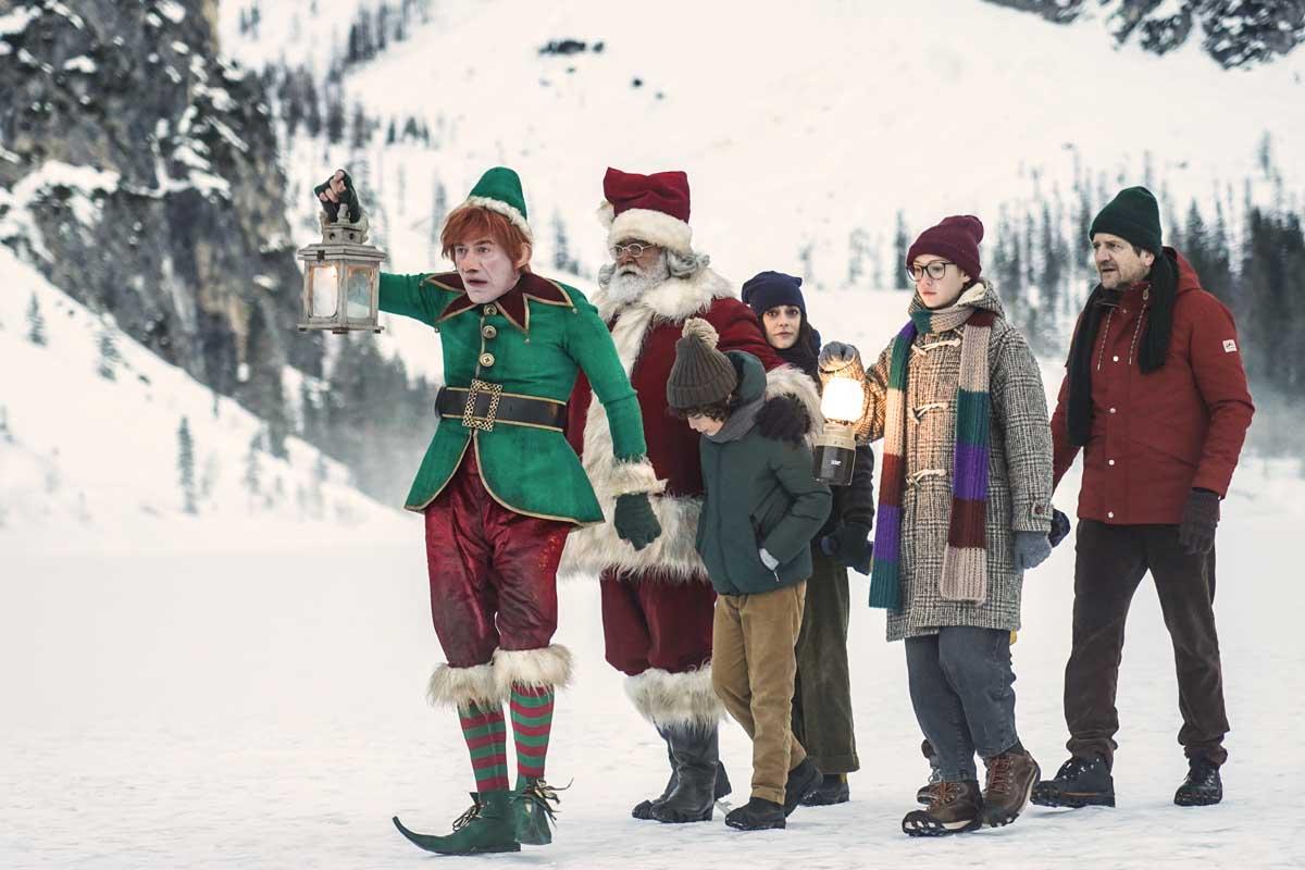 10 giorni con Babbo Natale recensione
