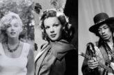 Marilyn Monroe, Judy Garland e Jimi Hendrix: cosa hanno in comune?