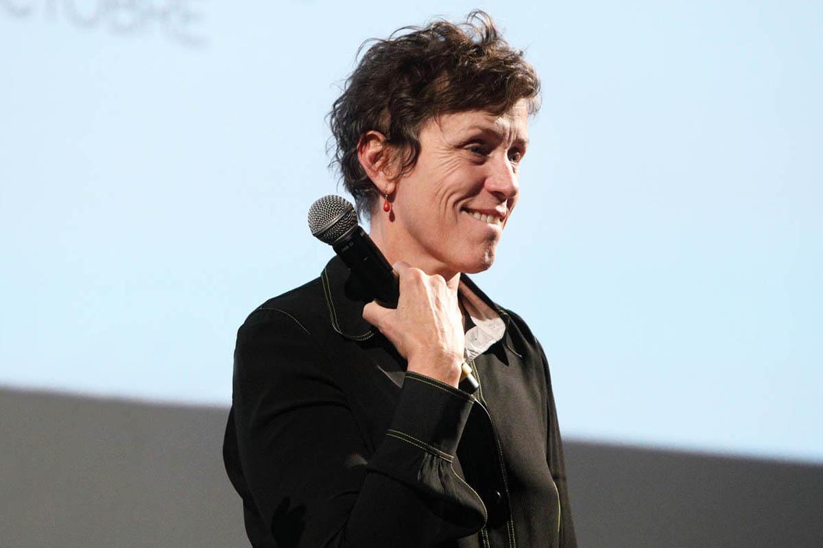 "Frances McDormand protagonista e produttrice di ""Women Talking""."