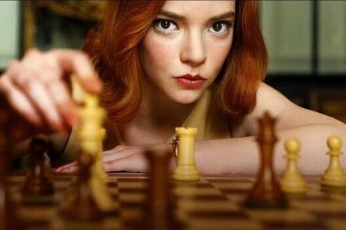 """Anya Taylor Joy in """"La regina degli scacchi"""""""