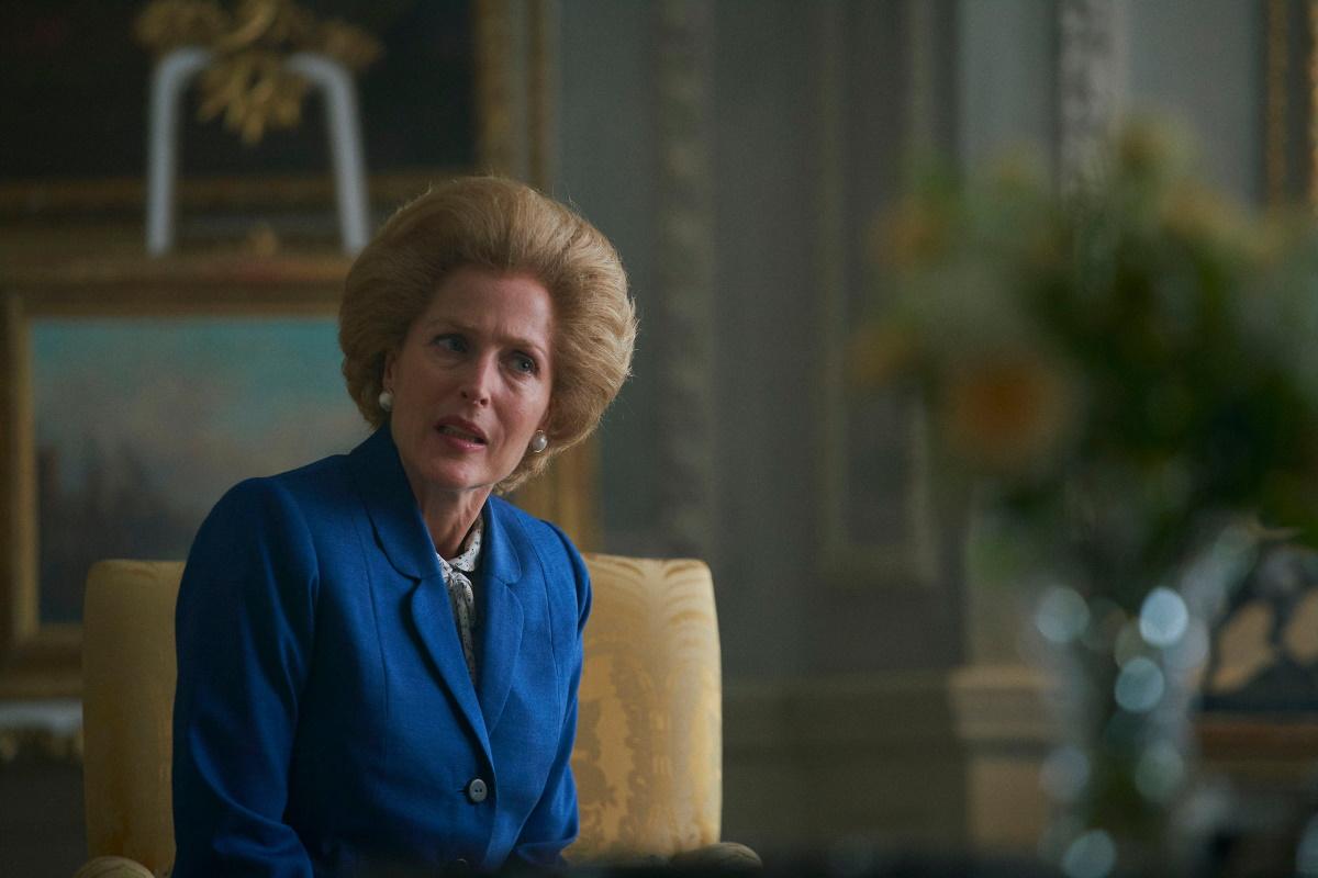 The Crown Margaret Thatcher