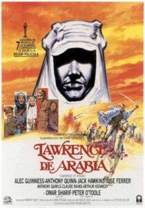 Lawrence d'Arabia locandina