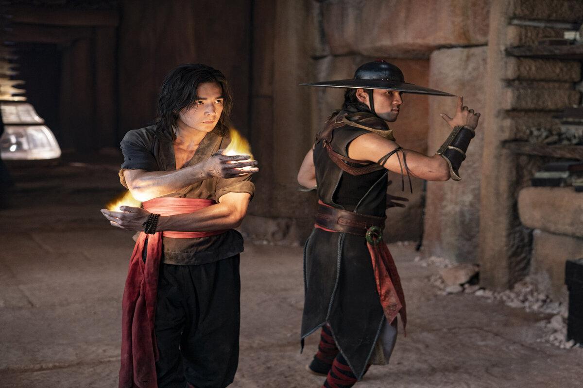 Mortal Kombat scena