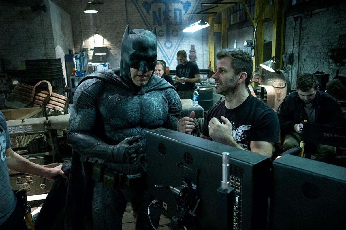 Zack Snyder- Justice League Director