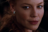 Connie Nielsen sul set de