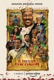 il principe cerca moglie poster