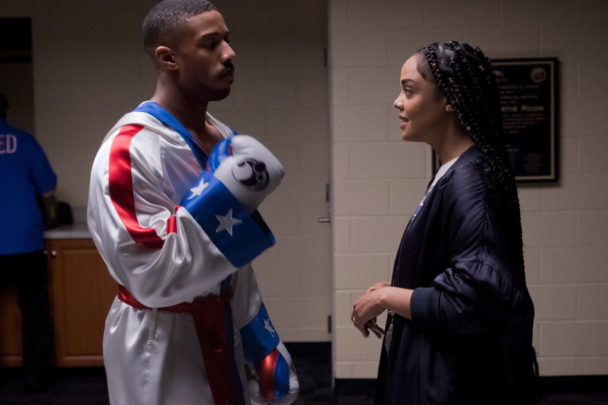 Bianca and Adonis Creed