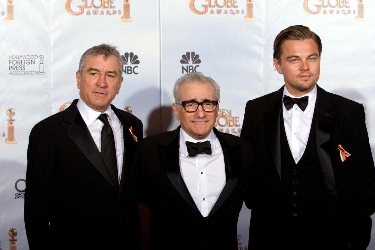 De Niro Scorsese e Di Caprio