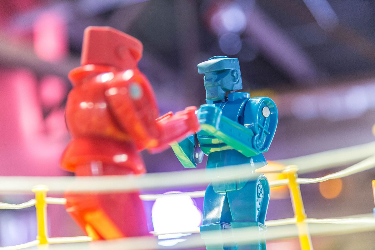 Rock 'Em Sock 'Em Robots - gioco