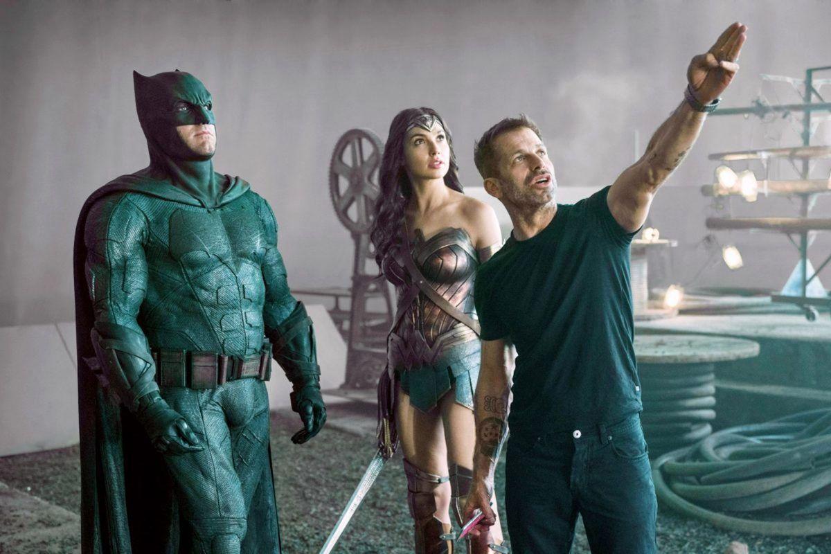 Zack Snyder - on set