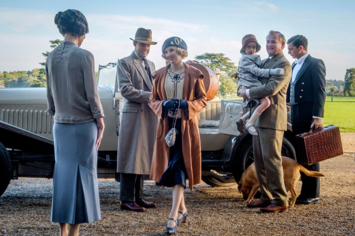 Downton Abbey scena
