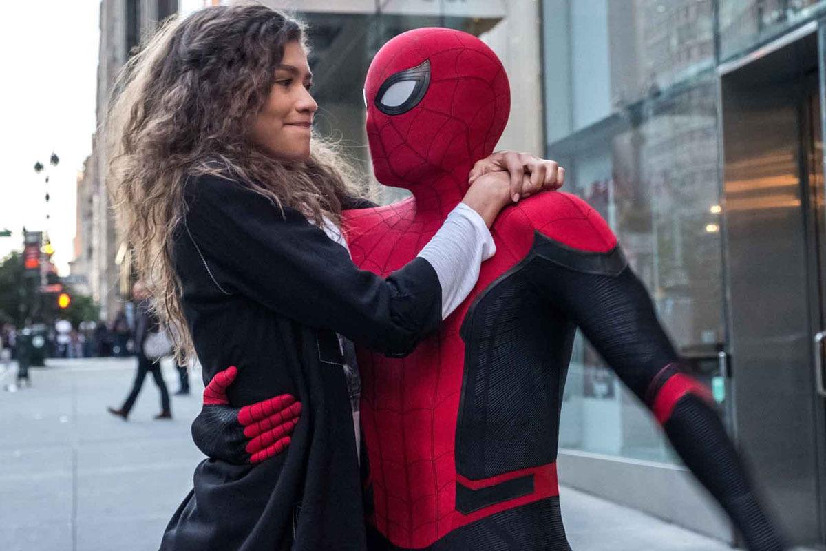 Spiderman scena