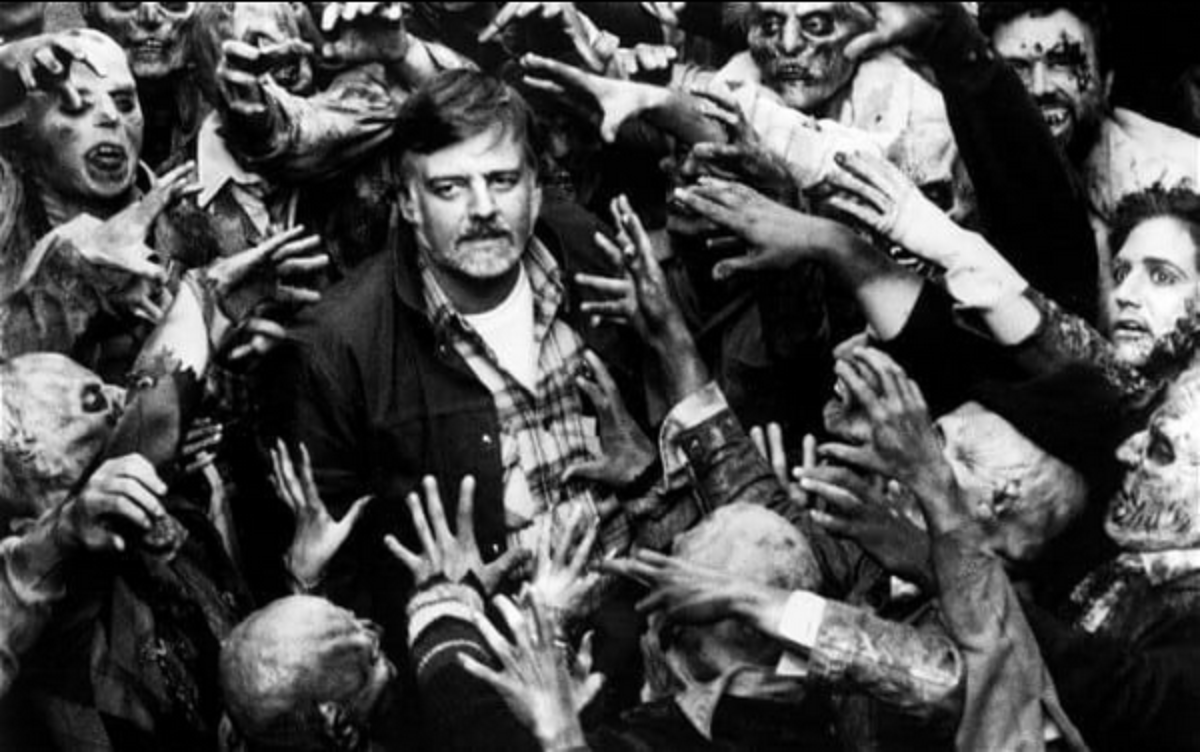 George A. Romero zombie