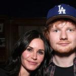 """Courteney Cox, Ed Sheeran ricreano la classica dance routine di  Ross e Monica di """"Friends"""""""