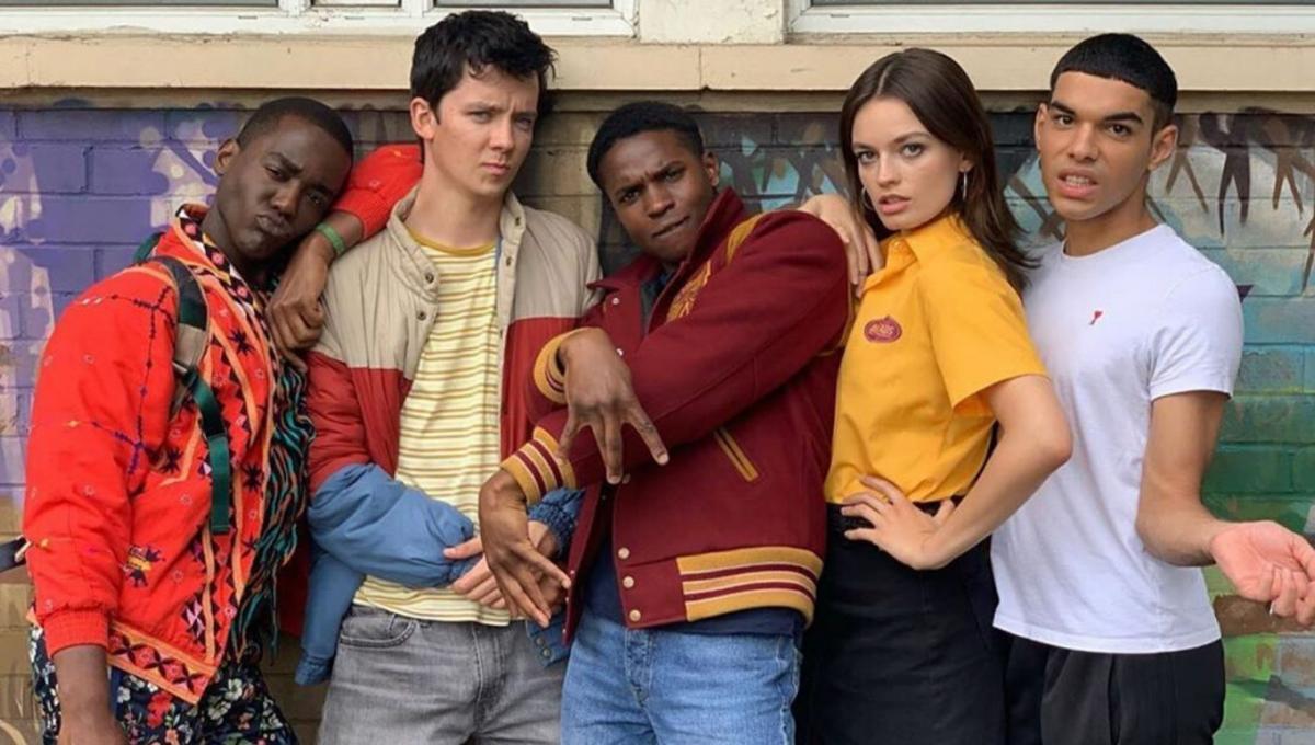 Sex Education cast