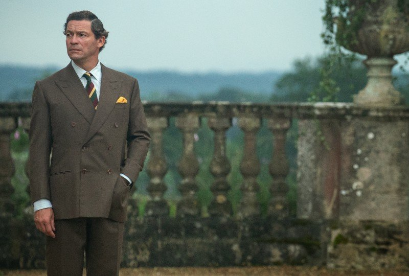 Dominic West - The Crown