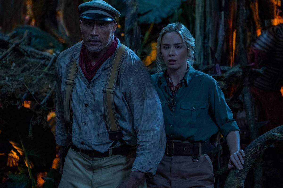 The Rock e Emily Blunt in Jungle Cruise - Box Office USA