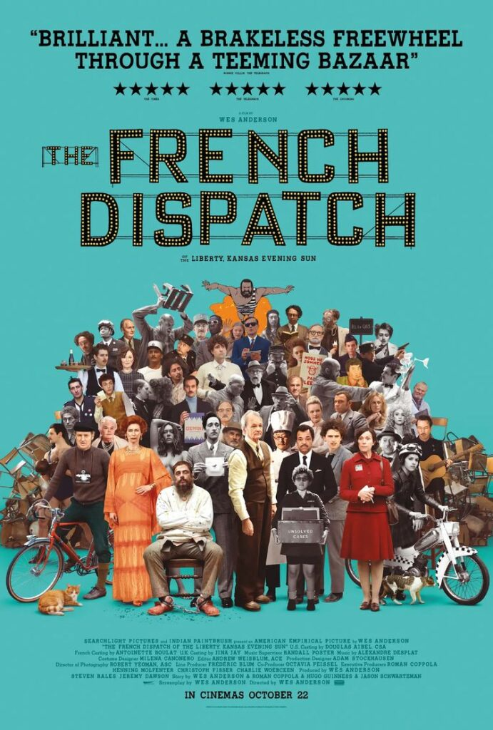 The French Dispach poster