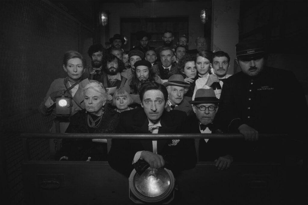 he French Dispach - scena film