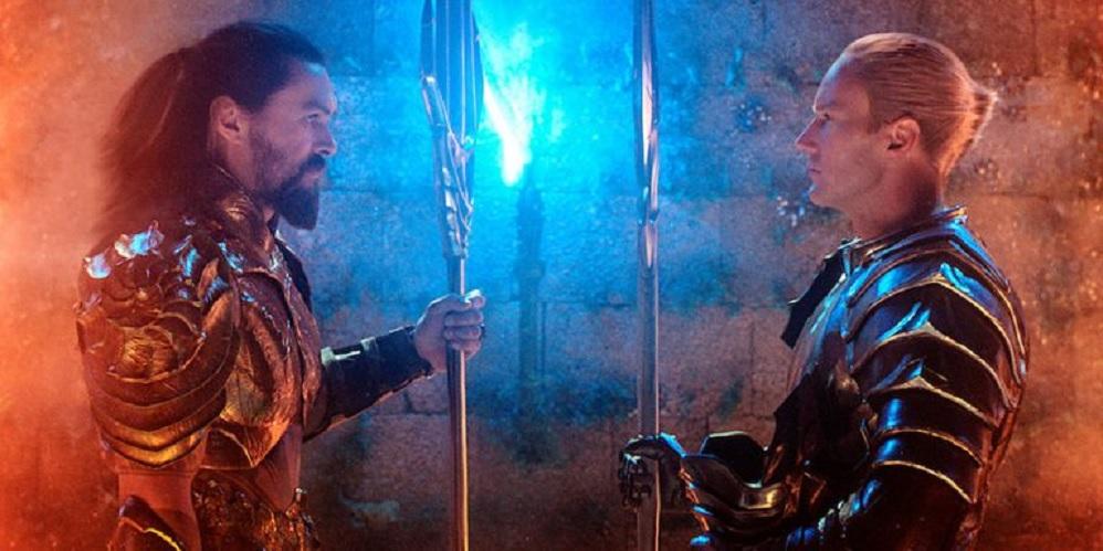 Aquaman 2 - Patrick Wilson e Jason Momoa