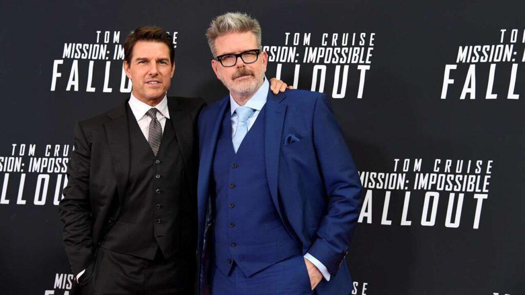Mission Impossibile 7 tom cruise e Christopher McQuarie