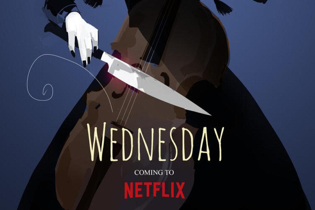 Mercoledì - poster Netflix