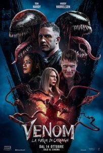 Venom - La furia di Carnage poster